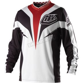 Troy Lee Designs Black Grand Prix Mirage Jersey - 0743-0209