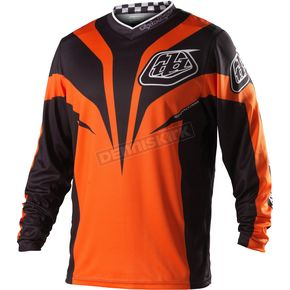 Troy Lee Designs Youth Orange/Black Grand Prix Mirage Jersey - 0753-0706