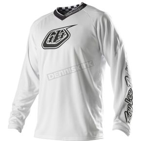 Troy Lee Designs Youth White-Out Grand Prix Jersey - 1733-0106
