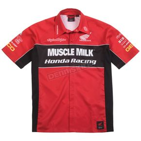 Troy Lee Designs Honda Team Pit Shirt - 3562-0410