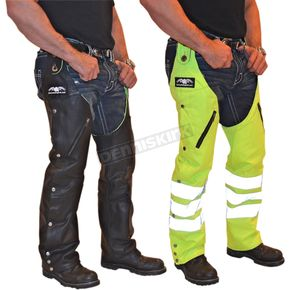 Missing Link Leather Reversible Hook Chaps - RHCLG3