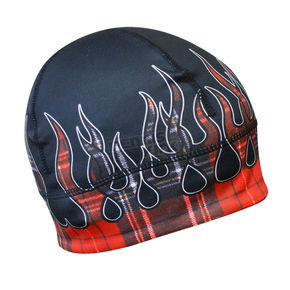 Missing Link Red Flannel Flame Gas Cap Beanie - GCRFLX