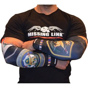 Missing Link Iraqi Freedom Vet Tattoo Sleeves - APIFL