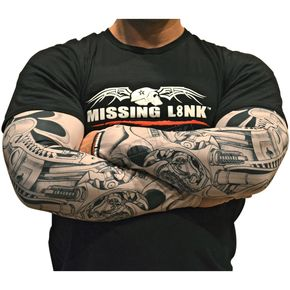 Missing Link Biomechanical ME Tattoo Sleeves - APBMS