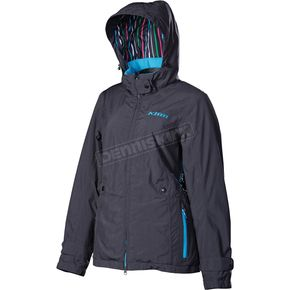 Klim Womens Blue Intrigue Jacket (Non-Current) - 4024-000