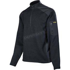 Klim Black Yukon Pullover (Non-Current) - 6013-000-140-000