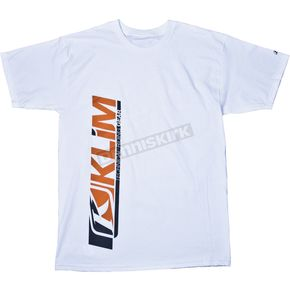 Klim White Podium T-Shirt - 4170-140