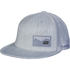 Klim Gray Edge Flex-Fit Hat (Non-Current) - 3331-120