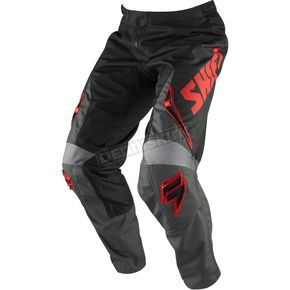Shift Gray/Red Assault Pants - 03097-037-32