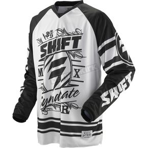 Shift Black/White Recon Jersey - 03098-018-L