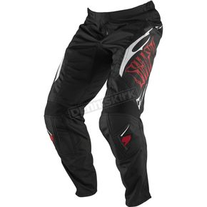 Shift Youth Black/Red 909 Assault Pants - 04698-017-22