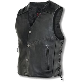 Milwaukee Motorcycle Clothing Co. Joker Leather Vest - M349L