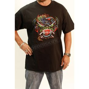 Easyriders Roadware Black Dragon Tattoo T-Shirt - 4310XXXL