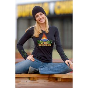 Easyriders Roadware Womens Lotus Long Sleeve Tee - 3105L
