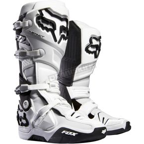 Fox White Instinct Boots - 04173-008-10