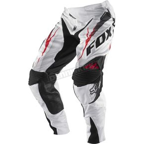 Fox White 360 Vibron Vented Pants - 01042-008-28