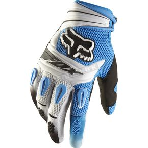 Fox Blue Pawtector Gloves - 01016-002-L
