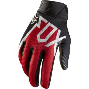Fox Red 360 Fallout Gloves - 01088-003-L