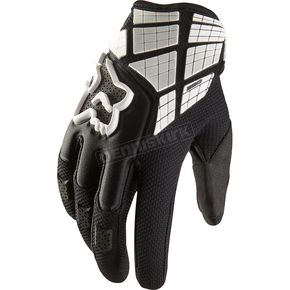 Fox Black 360 Flight Gloves - 01031-001-L
