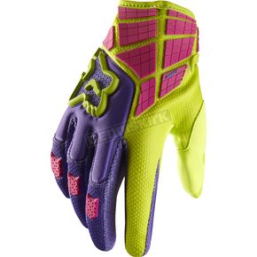Fox Green 360 Flight Gloves - 01031-004-L