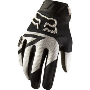 Fox Black 360 Machina Gloves - 01087-001-L