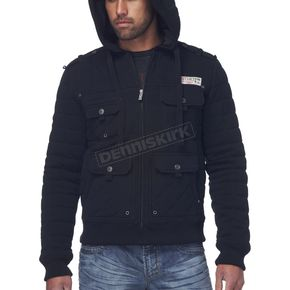 Affliction Window Pane Hoody - 110OW020-L