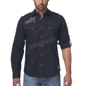 Affliction Breaking Chain Flannel Shirt - 110WV034-L