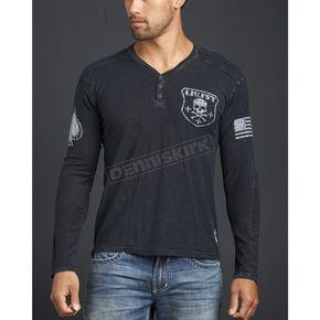 Affliction Live Fast Long Sleeve Tee - A6566-L