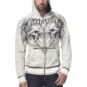 Affliction Joker Reversible Zip Hoody - A5722-L