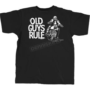 Old Guys Rule Biker Guy T-Shirt - OG209SS-L