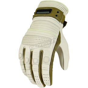 Icon Bone Beltway Leather Gloves - 3301-1881