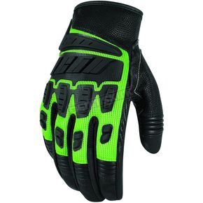 Icon Green Hooligan Gloves  - 3301-1913