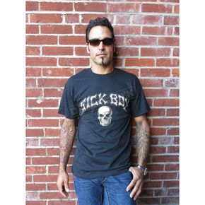 Sick Boy Motorcycles Skull T-Shirt - ME-CLUB-T-XXXL