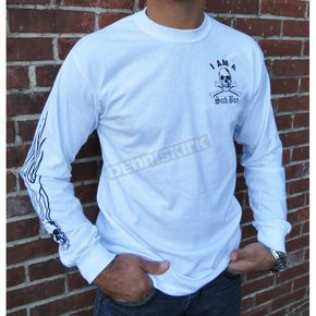 Sick Boy Motorcycles Sick Boy Long Sleeve T-Shirt - WSBLS-XXXL