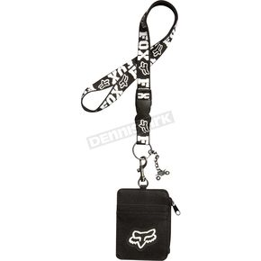 Fox Black Highspeed Lanyard - 04642-001-NS