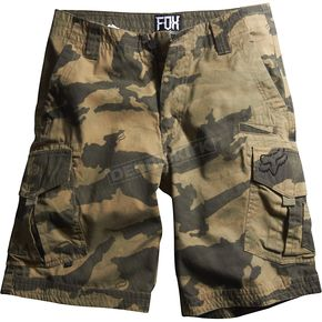 Fox Military Camo Slambozo Shorts - 04576-357-28