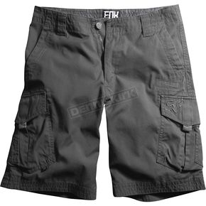 Fox Charcoal Slambozo Solid Shorts - 04575-028-28