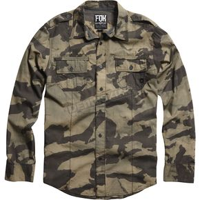 Fox Camo Evert Long Sleeve Shirt - 04478-027-L