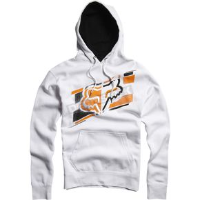 Fox White Dieter Hoody - 04608-008-L