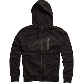 Fox Black Transport Zip Hoody - 04566-001-L