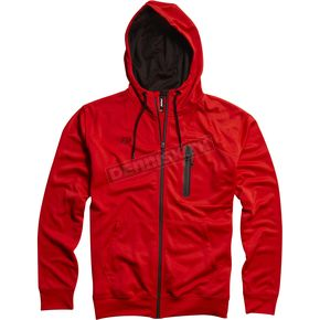 Fox Flame Red Transport Zip Hoody - 04566-122-L