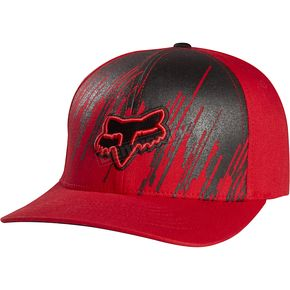 Fox Red Recover Flex-Fit Hat - 04996-003-L/XL
