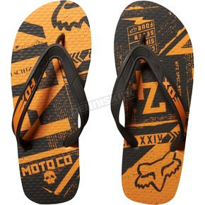 Fox Black Rise Aside Flip Flops - 03644-001