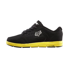 Fox Black/Yellow Motion Atmis Shoes - 01351-019
