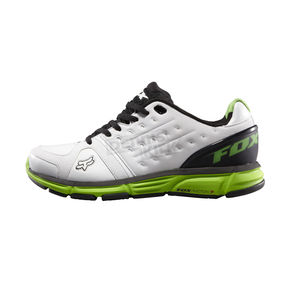 Fox White/Green Photon Shoes - 65112-076