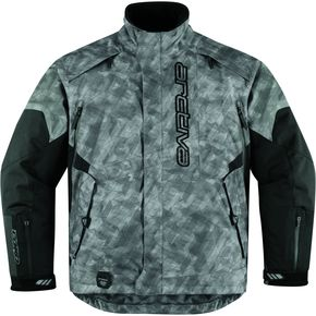 Arctiva Bolt Gray Comp 8 Jacket - 3120-1068
