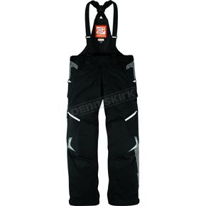Arctiva Black Comp 8 RR Shell Bibs - 3130-0839