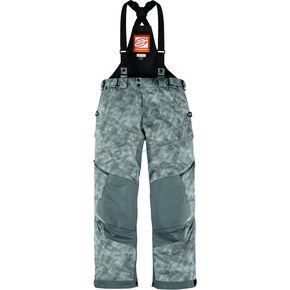 Arctiva Womens Bolt Gray Comp 8 Bibs - 3131-0304