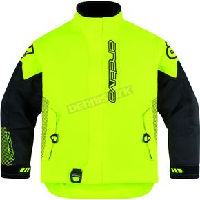 Arctiva Youth Hi-Viz Yellow Comp 8 Jacket - 3122-0240
