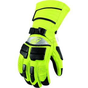 Arctiva Hi-Viz Yellow Comp 8 Gloves - 3340-0798